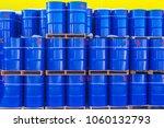 barrels of 200 liters.... | Shutterstock . vector #1060132793