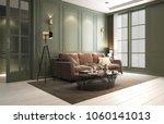 interior classic living  retro... | Shutterstock . vector #1060141013
