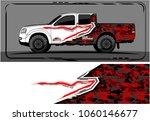 modern truck graphic. abstract... | Shutterstock .eps vector #1060146677