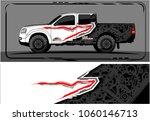 modern truck graphic. abstract... | Shutterstock .eps vector #1060146713