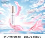 cosmetic product ads  essence... | Shutterstock .eps vector #1060155893