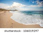 Beautiful Beach With Nice Wave...