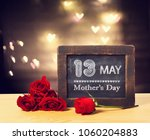 13 may mothers day message on a ... | Shutterstock . vector #1060204883