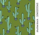 cactus in a pot    Shutterstock .eps vector #1060205363