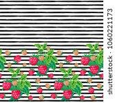 seamless vector pattern. bright ... | Shutterstock .eps vector #1060221173