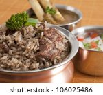 Indian Food Biryani - stock photo