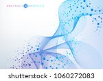 structure molecule and...   Shutterstock .eps vector #1060272083