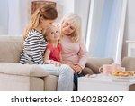 family traditions. cute joyful... | Shutterstock . vector #1060282607