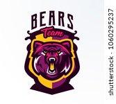 colorful logo  badge  sticker ... | Shutterstock .eps vector #1060295237
