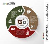 infographic  geometric graph ... | Shutterstock .eps vector #1060300667