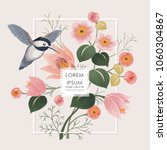 vector illustration with a... | Shutterstock .eps vector #1060304867