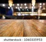 table top counter blur bar... | Shutterstock . vector #1060335953