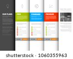 product   service pricing... | Shutterstock .eps vector #1060355963