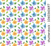 seamless floral background.... | Shutterstock . vector #1060360697