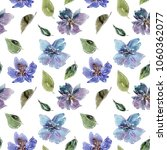 seamless floral background.... | Shutterstock . vector #1060362077