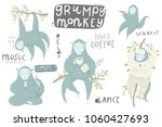 cute hand drawn illustrations... | Shutterstock .eps vector #1060427693