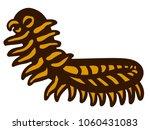 centipede bug icon | Shutterstock .eps vector #1060431083