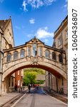 "Small photo of OXFORD, UK - JUN 15, 2013: Hertford Bridge (called ""the Bridge of Sighs""), a skyway joining two parts of Hertford College, a constituent college of the University of Oxford"
