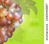 vector bunch of the fresh pink... | Shutterstock .eps vector #1060440887