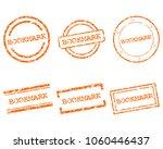 bookmark stamps on white | Shutterstock .eps vector #1060446437