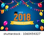 congratulations on graduation... | Shutterstock .eps vector #1060454327