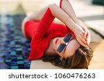 summer lifestyle fashion... | Shutterstock . vector #1060476263