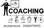 business coaching concept... | Shutterstock .eps vector #1060479053