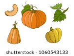 vector set of different... | Shutterstock .eps vector #1060543133