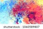 bright artistic splashes.... | Shutterstock . vector #1060589807