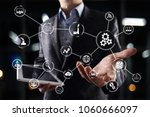automation and iot  internet of ... | Shutterstock . vector #1060666097