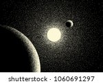 space landscape with scenic...   Shutterstock .eps vector #1060691297