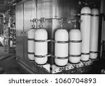 accumulator cylinder use for... | Shutterstock . vector #1060704893