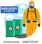industry concept. detailed... | Shutterstock .eps vector #1060735247