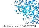 light blue vector background...   Shutterstock .eps vector #1060770263