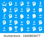human idea icon set. simple set ... | Shutterstock .eps vector #1060803677