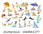 summer water beach sea sports... | Shutterstock .eps vector #1060861277