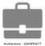 case halftone vector icon.... | Shutterstock .eps vector #1060890677