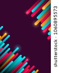 abstract background with... | Shutterstock .eps vector #1060895573