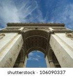 arc de triomphe  paris  france. | Shutterstock . vector #106090337