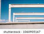 construction site with precast... | Shutterstock . vector #1060905167