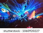 dj night club party rave with... | Shutterstock . vector #1060920227