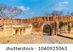 gate of jaigarh fort in amer  ... | Shutterstock . vector #1060925063