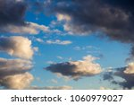 white  grey heavy fluffy ... | Shutterstock . vector #1060979027