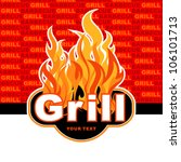 grill. barbecue and grill... | Shutterstock .eps vector #106101713