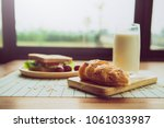 healthy eating and traditional... | Shutterstock . vector #1061033987