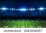 american football arena field... | Shutterstock .eps vector #1061036057