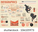 build info graphic vector with... | Shutterstock .eps vector #106105973