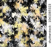 expressive abstract modern... | Shutterstock .eps vector #1061085323