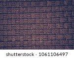 textile background texture | Shutterstock . vector #1061106497