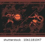 ancient greek background with...
